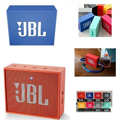 Jbl Go Speaker Sistema Audio Portatile Wireless Bluetooth Ricaricabile