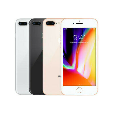Apple iPhone 8+ Plus - 256GB - Space Gray, Gold, Silver (AT&T) Smartphone - VGC