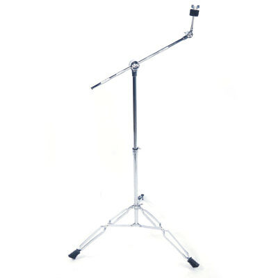 New Cymbal Boom Stand Drum Hardware Percussion Double Braced Tripod Holder