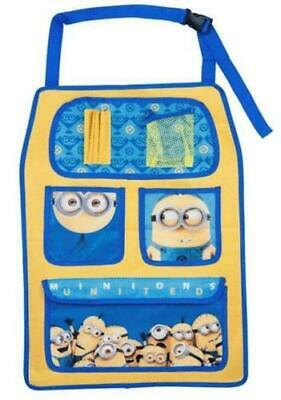 Minnions Car Back Seat Hanging Kids Travel Toy Tidy / Organiser And Storage Bag