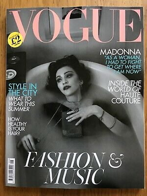 Madonna VOGUE magazine UK June 2019 issue