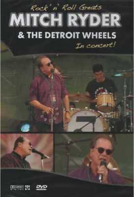Rock 'n' Roll Greats: Mitch Ryder & The Detroit Wheels in Concert NEW DVD