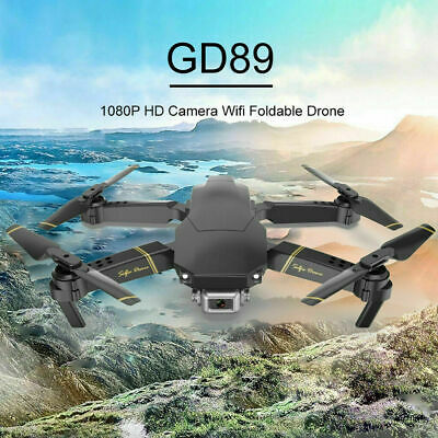 GD89 Pro Drone 2.4G WIFI FPV Wide Angle HD 1080P Camera Foldable RC Quadcopter