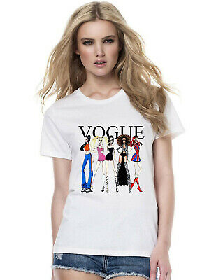 Spice Girls Vogue T-Shirt, UK Tour 2019 Spice World Concert Gift Ladies Top