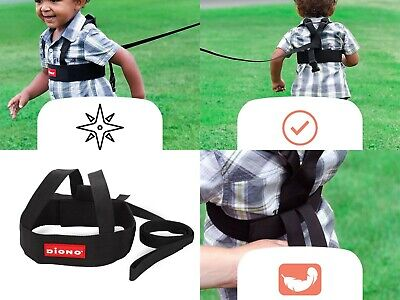 (2 PC) Child Safety Halter Harness Diono Best Toddlers Kids Walking Lead Reigns