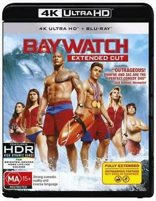 Baywatch: Extended Cut (Ultra HD 4K + Blu-ray) New