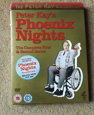 Peter Kay's Phoenix Nights - The Complete First & Second Series + Cd Soundtrack