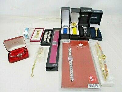 Job Lot of Watches in Presentation Boxes New & Used