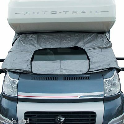 External thermal blind sunshade kit for Fiat ducato motorhome year 2006 on s1508