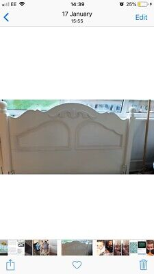 French Solid Wood Kingsize Bed