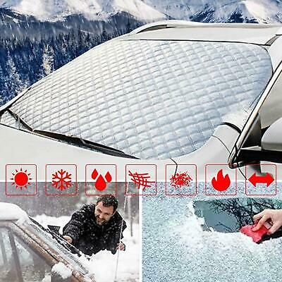 Car Windshield Winter Cover Thicken Foldable Removable Ice Protection WT88 07