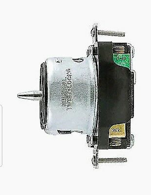 New in Box! Hubbell CS8369, Receptacle, 50A, 3P, 4W Grndng Twist Lock Blk