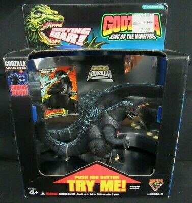 "1994 Trendmasters Godzilla King of the Monsters Supercharged 5"" Sealed MIB S688"