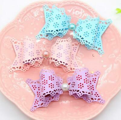 Flower Bow Metal Cutting Dies Scrapbook Paper Craft Decoration scrapbooking die