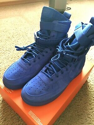 new styles 285c0 254f9 Nike SF AF1 Special Field Air Force 1 Men Size 10 Shoes Royal Blue 864024-