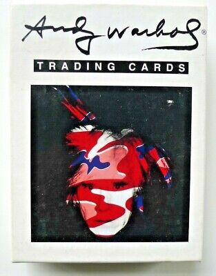 Andy Warhol set of 36 trading cards - acme studio - rare educational collectible