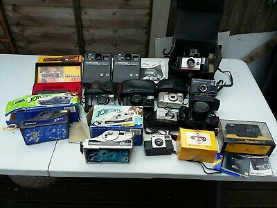 Vintage Camera Joblot Untested