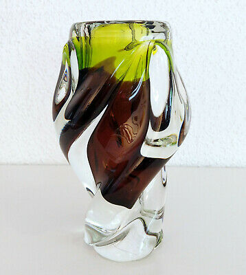 Chribska Glas Vase Josef Hospodka Design Czech Design Sklo Union FAT 4,2kg