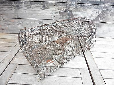 Antique Trap a Mouse Wire Wrought Iron Dolls