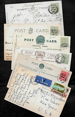 GB - Jersey - Six mixed cancelled pic postcards -------item1566