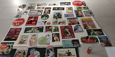 55 Carteles vintage Coca Cola. 55 Full metal Coke posters collection.