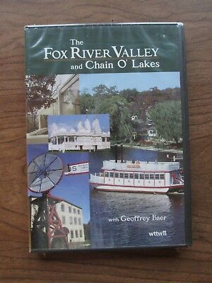 The Fox River Valley & Chain O Lakes DVD Algonquin Elgin St Charles Aurora NEW!