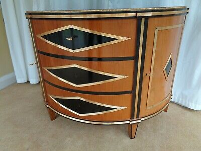 Italian Designer Chest Of Drawers /  Commode Side Cabinet Russian Antique Style