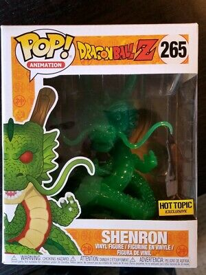 Funko Pop Animation #265 Jade Shenron Dragon Ball Z Hot Topic Exclusive 6 Inch