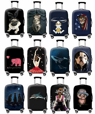 """Travel Elastic Suitcase Case Dustproof 18""""-32"""" Scratch Trunk Luggage Bag Covers"""