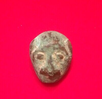 Roman Face Pendant Or Clothing Decoration, 1st/2nd Century,Ancient Jewellery