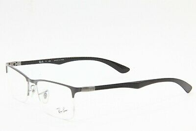 9dd1247c2c Brand New Ray-Ban Rb 8413 2893 Silver Eyeglasses Authentic Rb8413 54-18