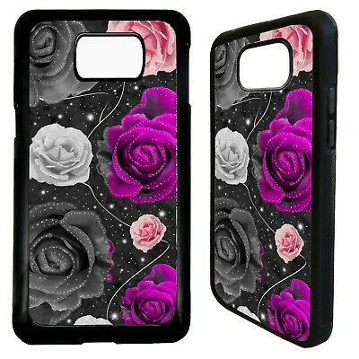 Rose flower tattoo roses case cover for Samsung Galaxy S7 S8 S9 s10 s10e plus