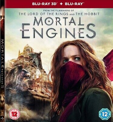Mortal Engines Full Hd 3D Bluray Disc With Case