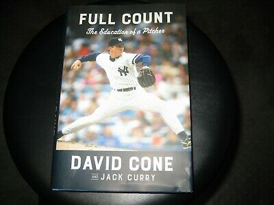 Full Count : The Education of a Pitcher David; Curry Jac... Hardcover by Cone
