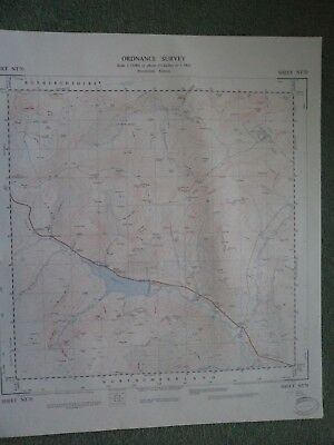 """Ordnance Survey 2.5"""" Map NT70 Catcleugh 1954 Leithope Forest Bryness Roman camps"""