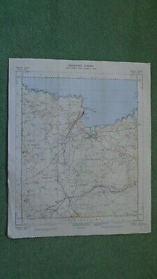 "Ordnance Survey Map 2.5"" map SM93 Fishguard 1969 Goodwick Tre-cwm Manorowen"