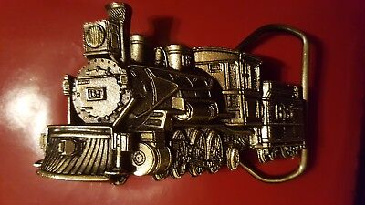 1981 Great American Belt Buckle Co. Steam Locomotive #165 Serial #H277 Train