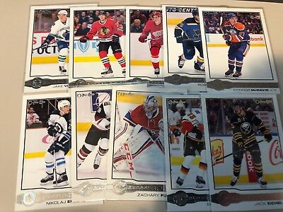 2015-16 Upper Deck Series 2 OPC Glossy Rookies Set R1-10 Connor McDavid RC Domi