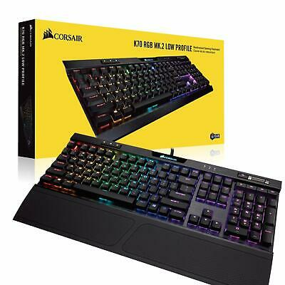 CORSAIR GAMING K70 RGB MK 2 Low Profile RAPIDFIRE Mechanical