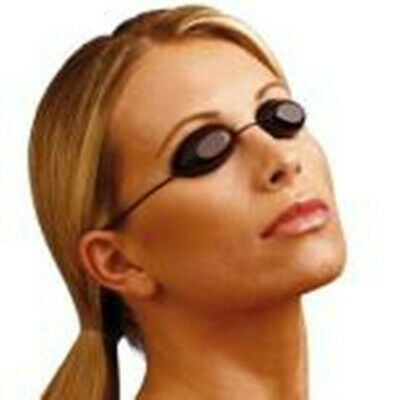 Flexible Uv Eye Protection Indoor & Outdoor Sunbed Tanning Goggles Beach