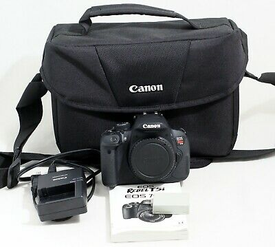 Canon EOS Rebel T5i 700D 18.0MP Digital SLR Camera Body ONLY 1K SHUTTER COUNT