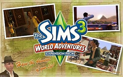 The Sims 3: World Adventures  Expansion Pack  PC / MAC , ORIGIN code key