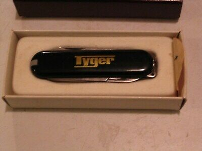 **TYGER CONSTRUCTION COMPANY** SAFETY AWARD Pocket Knife Advertising