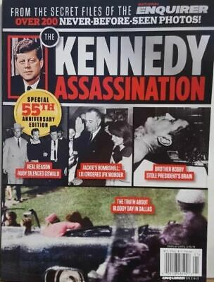 The Kennedy Assassination Special 55th Anniversary Edition FREE SHIPPING