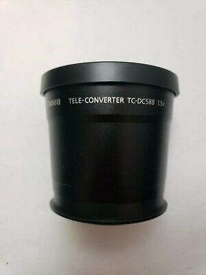 Canon Tele-Converter TC-DC58B 1.5X W/ Caps Lens and travel pouch