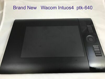 Graphics Tablets/boards & Pens Wacom Intuos4 Drawing Tablet Ptk-440 Small No Pen No Cable