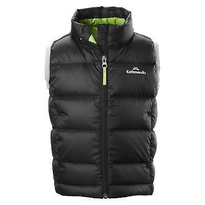 NEW Kathmandu Elcho Kids' Boys' Girls' Warm Winter Outdoor Duck Down Puffer Vest