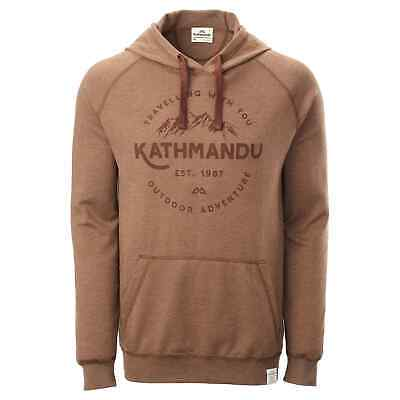 NEW Kathmandu Men's Earthcolours Hooded Pullover Jumper Hoodie Top