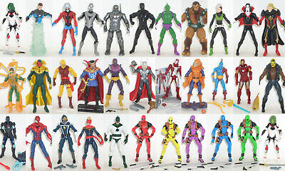 Marvel Universe Action Figures [ MULTI-LISTING ] Thor SPIDER-MAN Guardians 4.25""