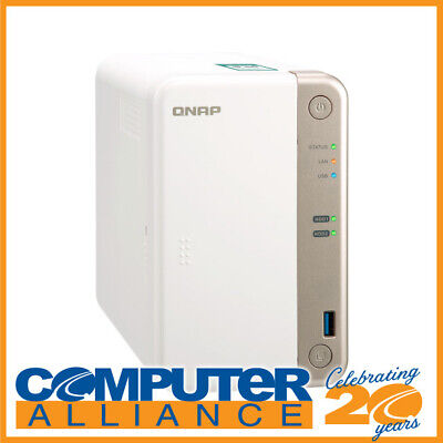 2 Bay QNAP TS-251B-2G Gigabit NAS Unit